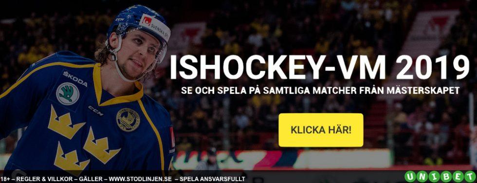 Spelschema Hockey VM 2019 - komplett Ishockey VM 2019 spelschema!